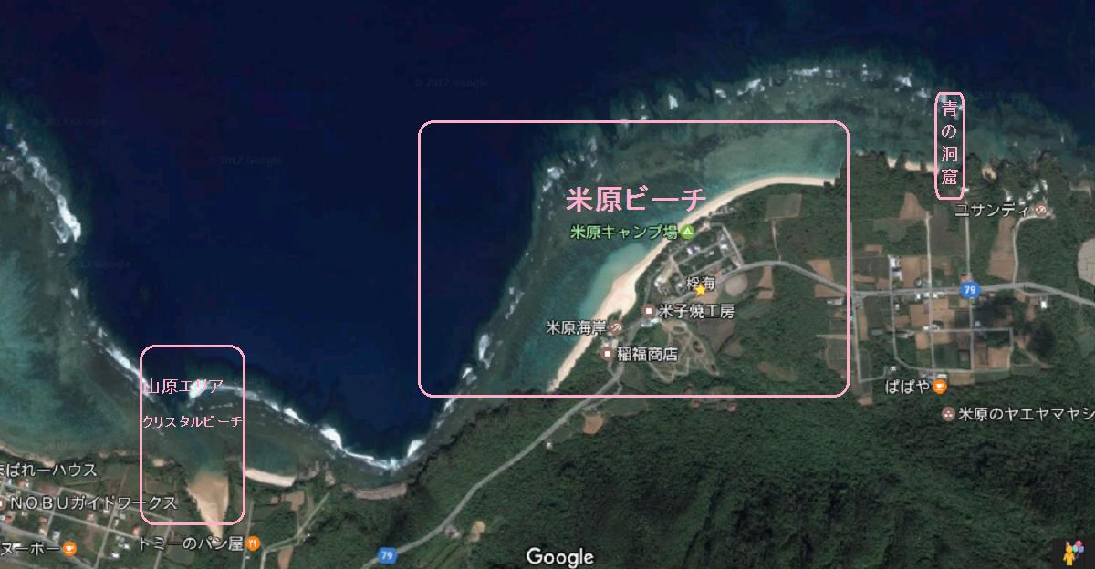 米原海岸周辺図