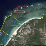 石垣島米原ビーチのシュノーケリングマップ