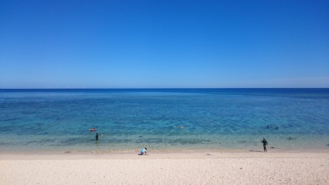 今朝の米原ビーチ