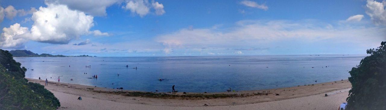 朝の米原ビーチ