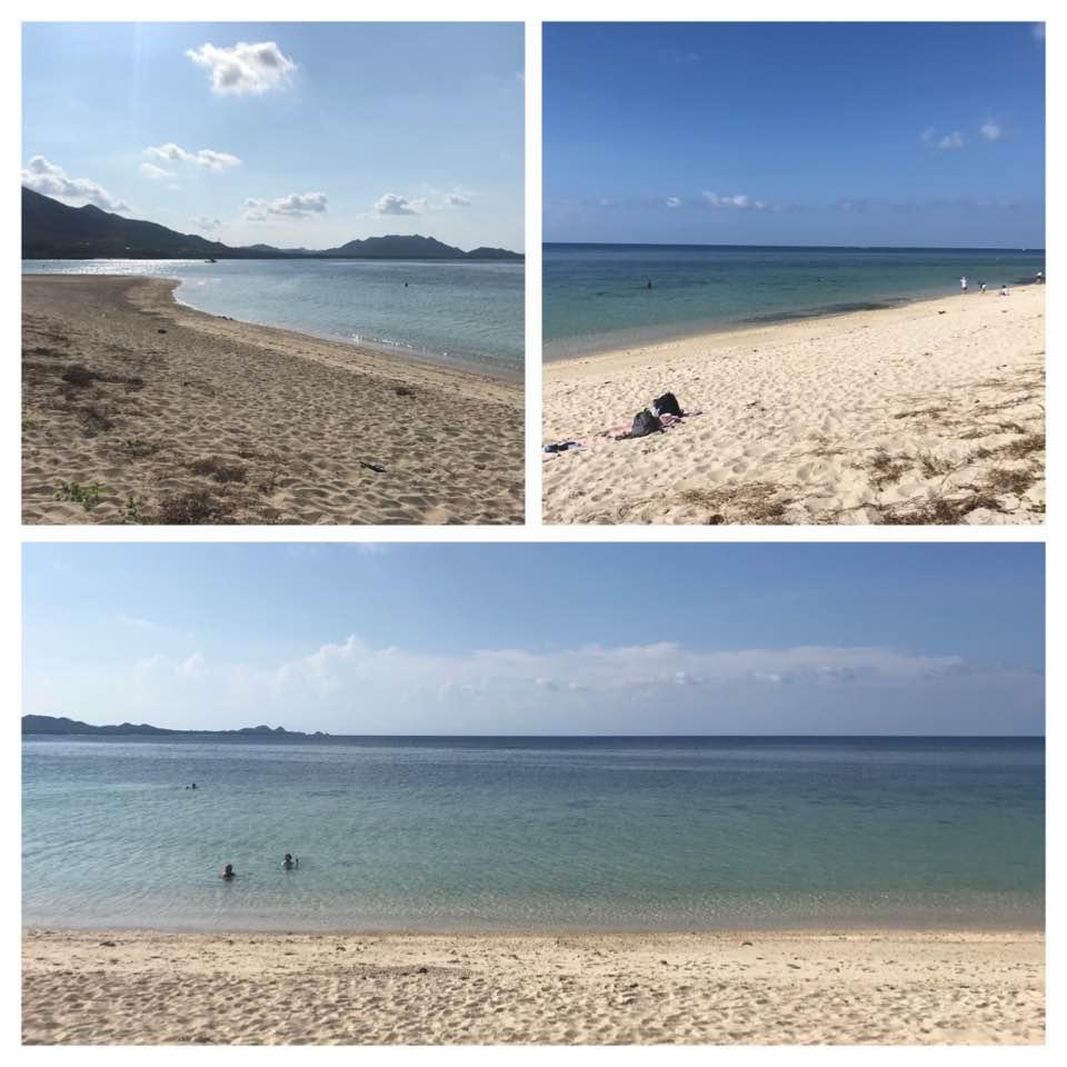 夏の続く石垣島米原ビーチ