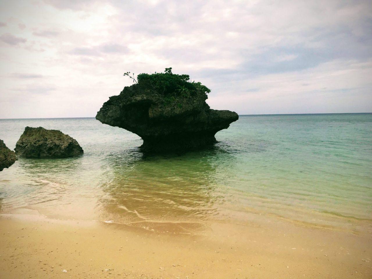 平久保のビーチ
