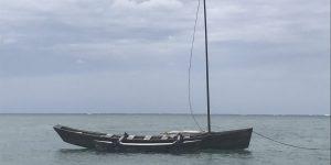 平久保のサバニ船
