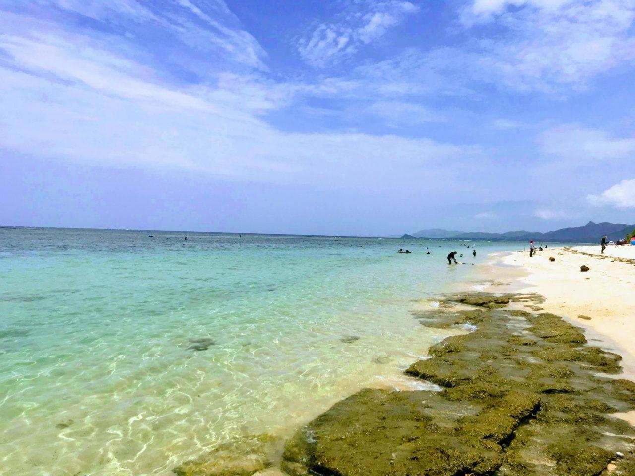 今日の石垣島米原ビーチ