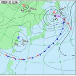 気象庁天気図(2019/05/02/21:00)
