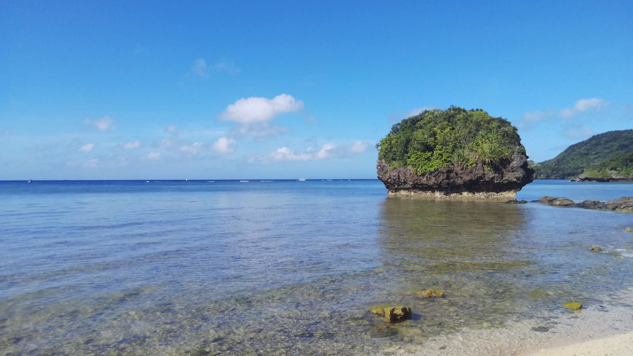 石垣島御神崎ブロッコリービーチ(2020.11.06)