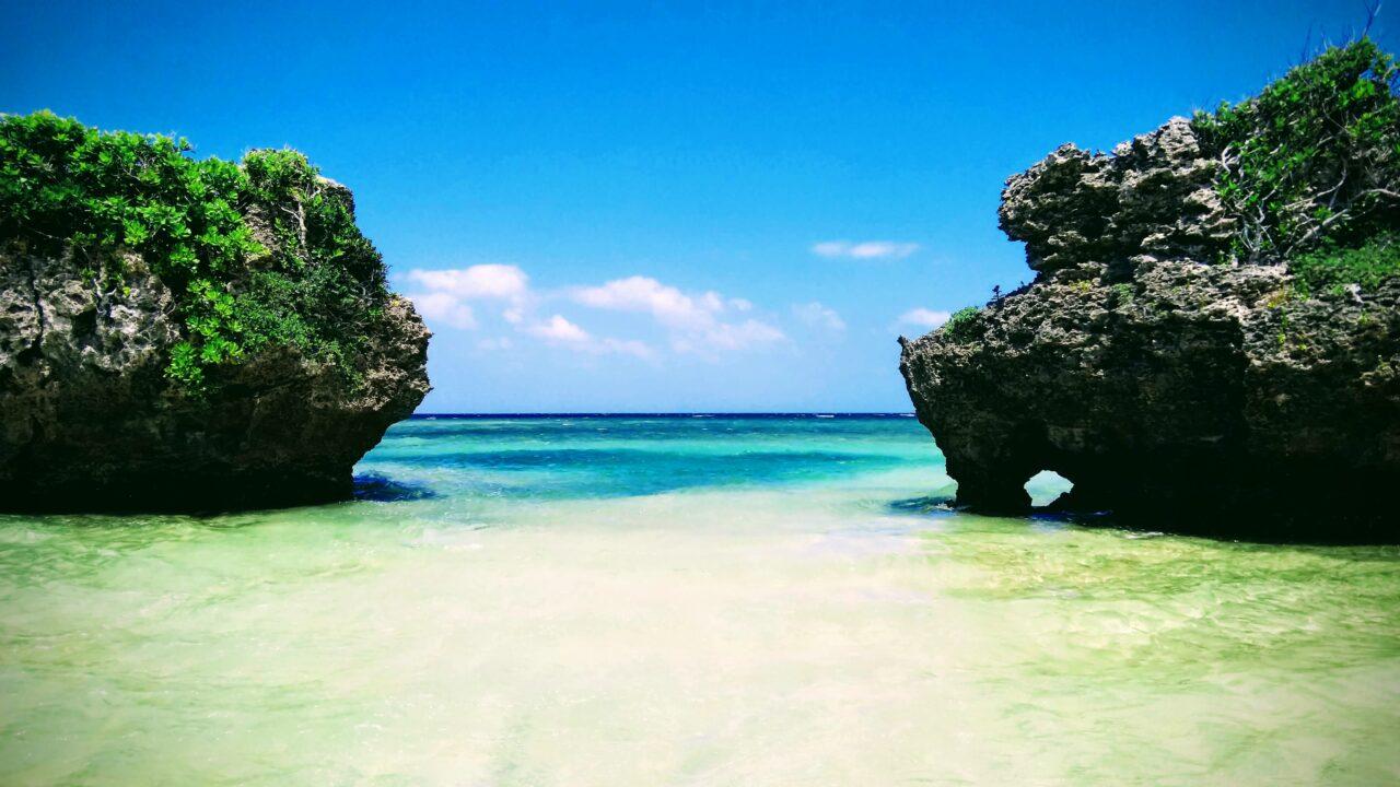 西表島中野海岸