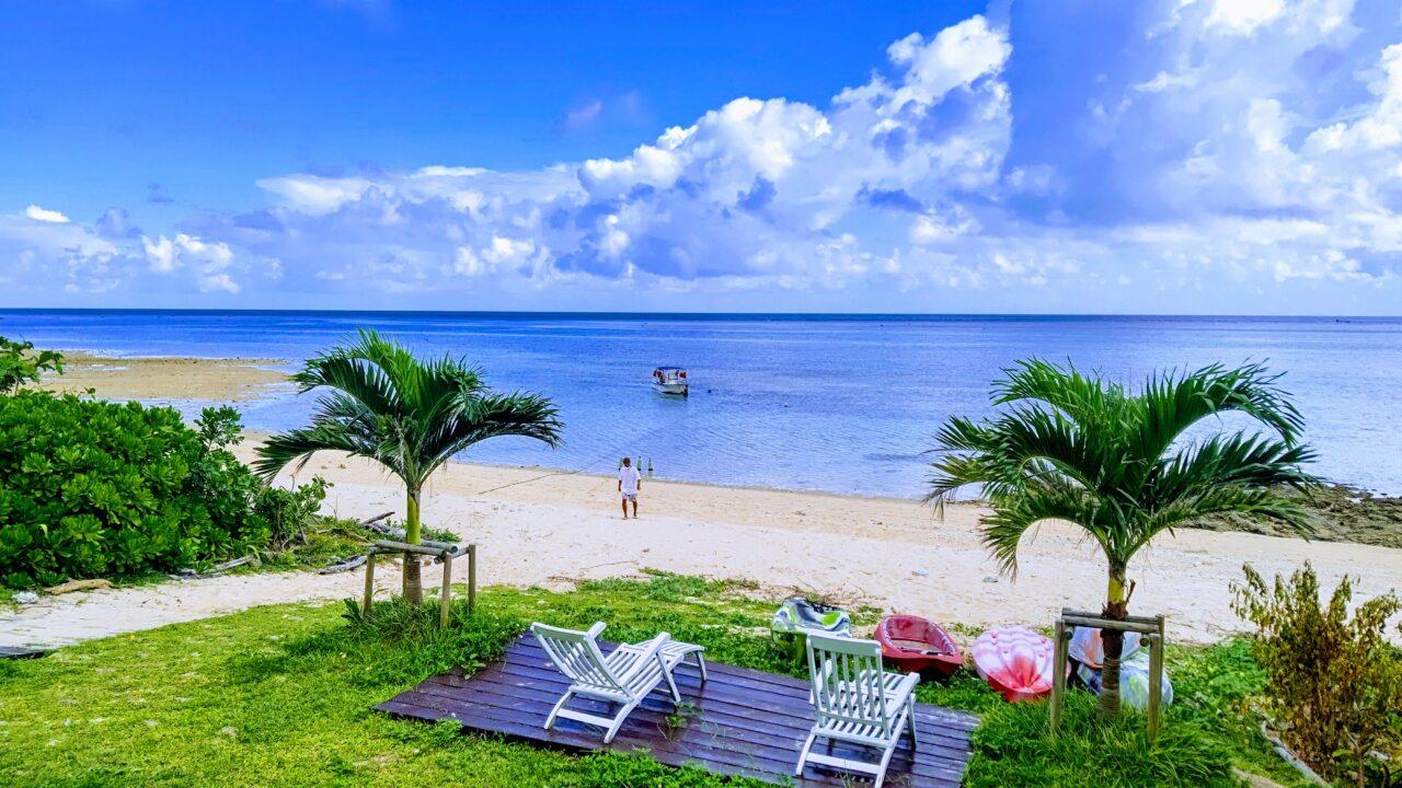 石垣島AloAloビーチからボートダイビング